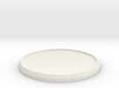 Round Model Base 40mm in White Strong & Flexible