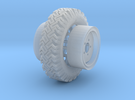 1/24 Australian Land Rover LRPV wheels in Frosted Ultra Detail