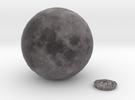 5cm Color Lunar Globe in Full Color Sandstone