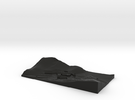 topographical overlay in Black Strong & Flexible