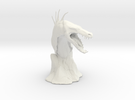 The Tuurasucha - Creature Sculpture (Small) in White Strong & Flexible