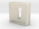 drive shuttle mold in White Acrylic