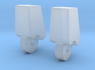 MP-13 Finger 1 Pair in Frosted Ultra Detail
