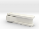 Discrete Key Holder in White Strong & Flexible