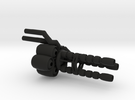 """Wrecker's"" Heavy Artillery Minigun - Regular in Black Strong & Flexible"