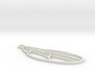 Drosophila melanogaster wing in White Strong & Flexible