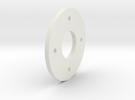 DSLR_bearing_plate in White Strong & Flexible