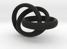 Rings in Black Strong & Flexible