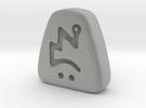 Diablo 2 II Zod Rune in Metallic Plastic