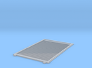YSD Industries Double 8ft Plate F Door Right in Frosted Ultra Detail