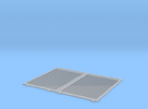 YSD Industries Double 8ft Plate F Door Pair Assy in Frosted Ultra Detail