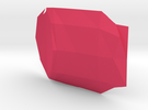 Shapeway in Pink Strong & Flexible Polished