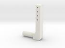 BMGimbal Tiltbar Connector in White Strong & Flexible