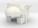 Robohelmet: Wrecked Roadie in White Strong & Flexible