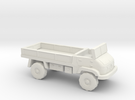 1:200 Unimog 404S Flatbed in White Strong & Flexible