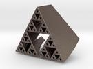 Super Fractal Pendant in Stainless Steel