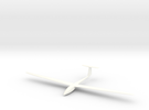 Sailplane in White Strong & Flexible Polished