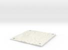 Mt Rainier 15cm x 15cm panel in White Strong & Flexible