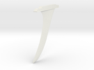 Jwow Wind Surf Board Fin in White Strong & Flexible