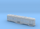 HO Scale B&QT 8000-series Body Shell in Frosted Ultra Detail
