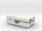 Raspberry Pi CASE 1.0 NO LOGO in White Strong & Flexible