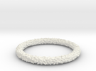 Perlin Bracelet (Medium) in White Strong & Flexible