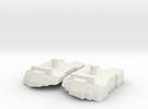 Feet set for Kabaya set 7 Menasor in White Strong & Flexible