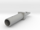 Ribbonmicrophone Part 1 the Motorframe in Metallic Plastic