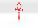 VTM Ankh in Red Strong & Flexible Polished