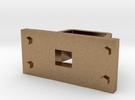 D29 Internal Coupler Pocket 1:64 in Raw Brass