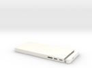 Slim 3200mah Universal Dual Out USB Charger in White Strong & Flexible Polished
