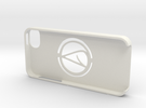 iPhone 5 Case with Atheism Symbol in White Strong & Flexible