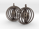 Orbital Earrings in Stainless Steel
