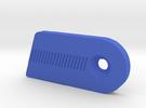 Cartel Fantom Clicker Ext Plate RH in Blue Strong & Flexible Polished