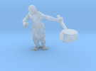 31mm Orc Miniature in Frosted Ultra Detail