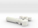 MiniTank Guns in White Strong & Flexible