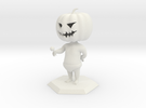 Jack O Lantern in White Strong & Flexible
