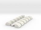 Cargo Pods 2 in White Strong & Flexible