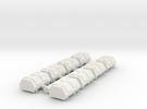Cargo Pods 3 in White Strong & Flexible