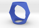 Ring17(17mm) in Blue Strong & Flexible Polished