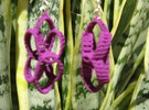Clelie Chain 1 Earrings in Purple Strong & Flexible Polished