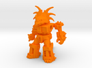 Stalwart Styracosaur in Orange Strong & Flexible Polished