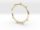 Ball Ring - Sz. 7 in 14K Gold