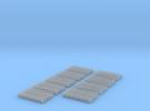Kurze Kupplungen - 720 Stück in Frosted Ultra Detail