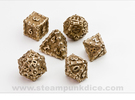 Dragon Dice Set noD00 in Stainless Steel