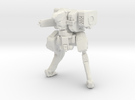 Neugen Battle Walker with autocannon and rocket po in White Strong & Flexible