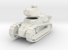 PV12 M1917 Six Ton Tank (37mm Cannon) (1/48) in White Strong & Flexible