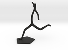 Soccer Statue in Black Strong & Flexible