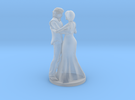 Couple Dancing in Frosted Ultra Detail