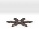 shuriken, ninja weapon in Stainless Steel